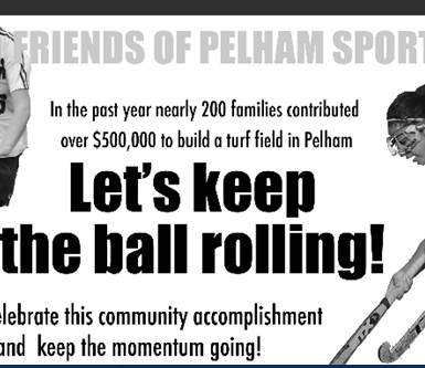 Friends of Pelham Sports - Built Glover Field